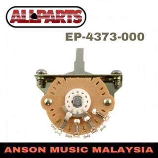 AllParts EP-4373-000 3-Way Oak Grigsby Switch for Telecaster