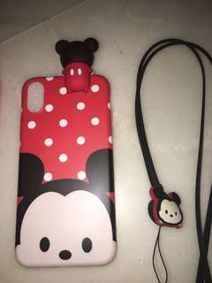Mickey / Minnie rubber housing for iPhone