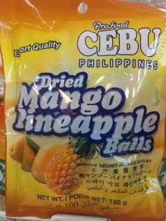 菲律賓Cebu 芒果菠蘿球/椰子芒果球
