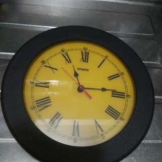 陳年美國手工製造掛牆鐘(直徑12吋)