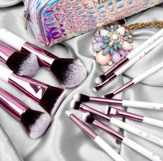 [💕BH Cosmetics] Crystal Quartz - 12 Piece Brush Set Preorder Po Spree