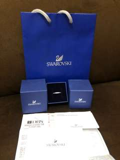 "SALE! Swarovski ""rare ring"" AUTHENTIC"