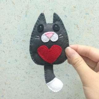 Handmade felt toy
