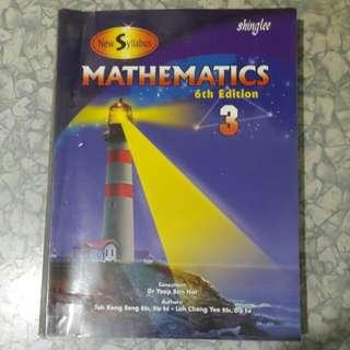 Shinglee Mathematics 3 (6th Edition)