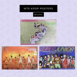 📌WTS KPOP POSTERS