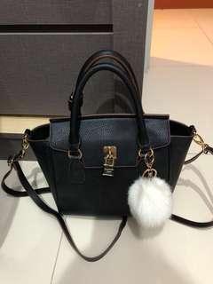 Tote bag black Samantha Vega