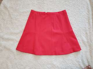 J Crew High-waisted mini skirt (size 0)