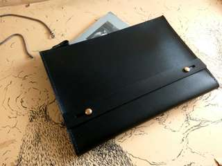 Customize Leather Clutch
