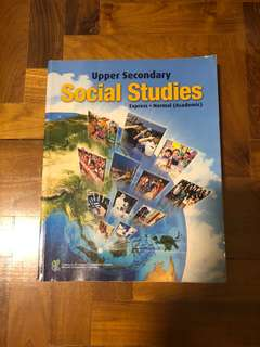 Upper Secondary Social Studies Textbook (Exp/NA)