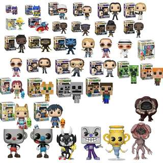 December Funko pop Preorder Erik Killmonger  Disney: Tinkerbell glitter Buffy Dark Willow Faith Giles Xander Elton John Nirvana Lilo and Stitch Minecraft:Creeper Skeleton Ocelot Alex Steve Ni no Kuni 2  Wonder Woman Walking Dead Harry Potter