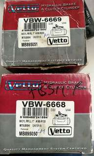 Vetto Hydraulic Brake Cylinder Pump Canter