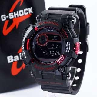 Jam G-Shock Frogman KW Black Red GWF-1000