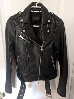 MACKAGE Rumer Leather Jacket, size XS