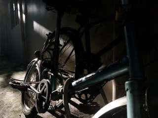 Sky Blue Bike (small tire)