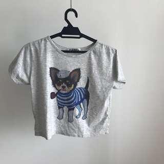 Puppy design shirt
