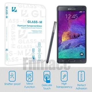 Glass-M 0.3mm 厚 鋼化玻璃貼 Samsung Note 4