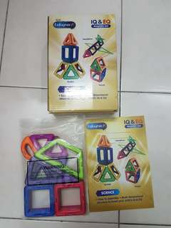 Educational magnectic set