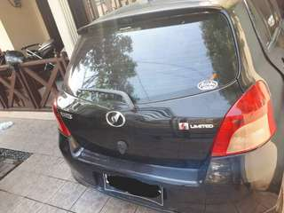 YARIS TYPE S LIMITED 2006 BLACK DP 7JT
