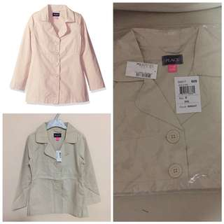 SALE 65% Off - 5-6 years BNWT The children's place girls Trench coat