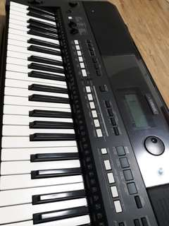 for sale YAMAHA KEYBOARD PSR-E433+BAG+CABLE+ 5 FILE STYLE INDONESIAN