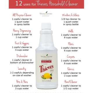 🚚 BN Young Living Thieves Household Cleaner 426ml