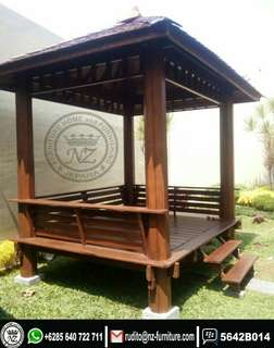 Gazebo Tiang Hexagon