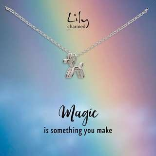 PO - Lily charmed necklace