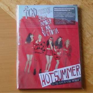ONHAND SEALED ALBUM F(X) - HOT SUMMER 1ST REPACKAGE