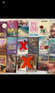 Novel Melayu - 3 for RM 20