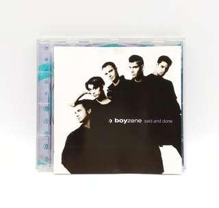 Boyzone Said And Done CD