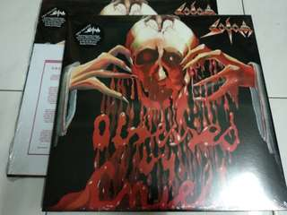 Sodom Obsessed By Cruelty 2LP