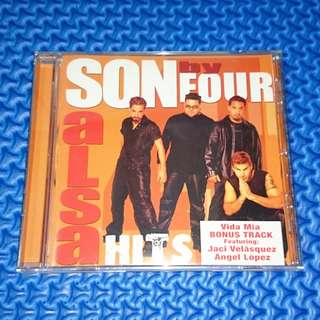 🆒 Son By Four - Salsa Hits [2001] Audio CD