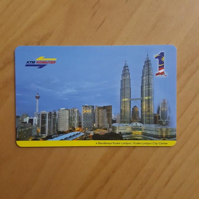 【包郵】馬來西亞火車車票 A