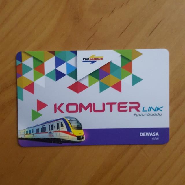 【包郵】馬來西亞火車車票 B