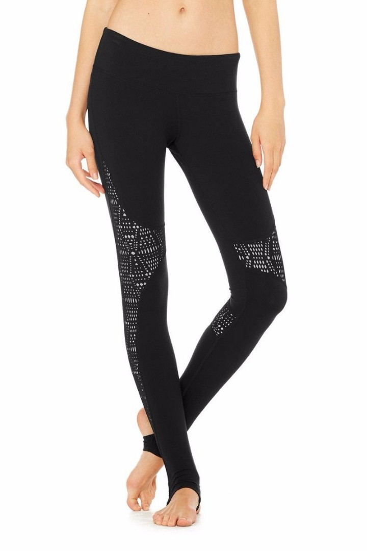 0764d1b0418e6 Alo Yoga West coast leggings XXS, Sports, Sports Apparel on Carousell