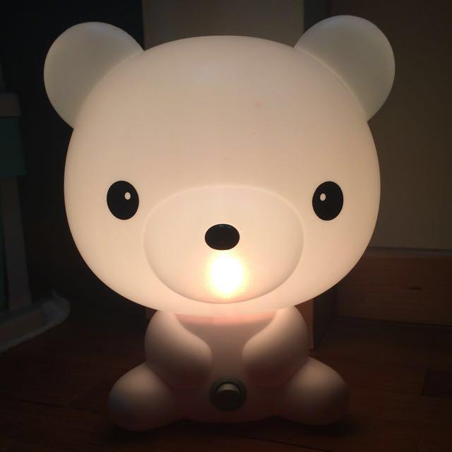#Blessings - Cute Bear Light