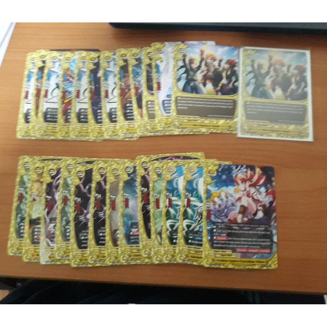 Buddyfight Legend World cards (Items, monsters and spells)