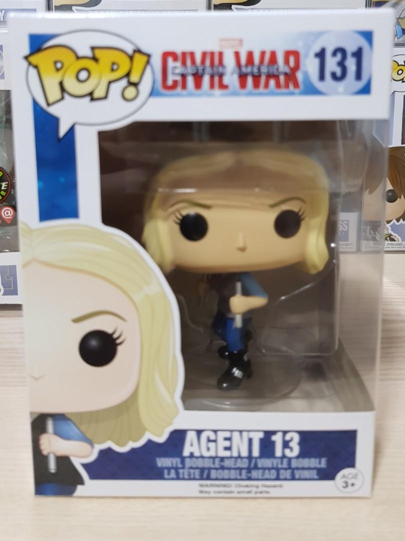 Agent 13 Pop Marvel Vinyl Civil War