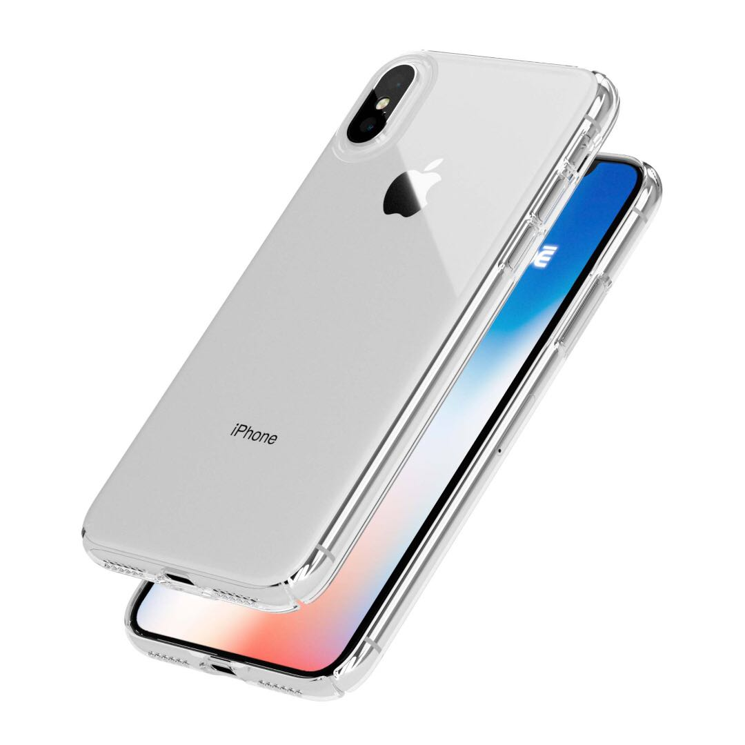 Caudab Lucid Clear Iphone X Case Mobiles Tablets Mobile Remax Aluminum Metal Button Bumper Protector For 5 5s Photo