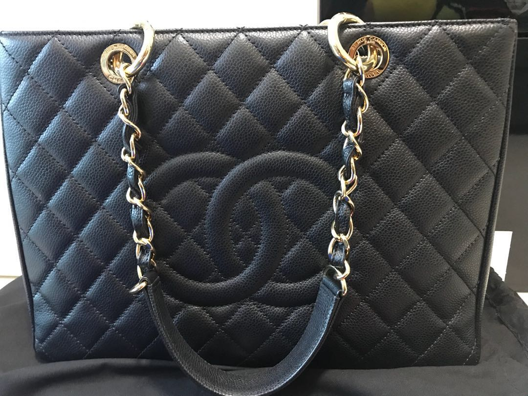 057a21a6f8dd83 Chanel Grand Shopping Tote (Authentic), Luxury, Bags & Wallets on ...