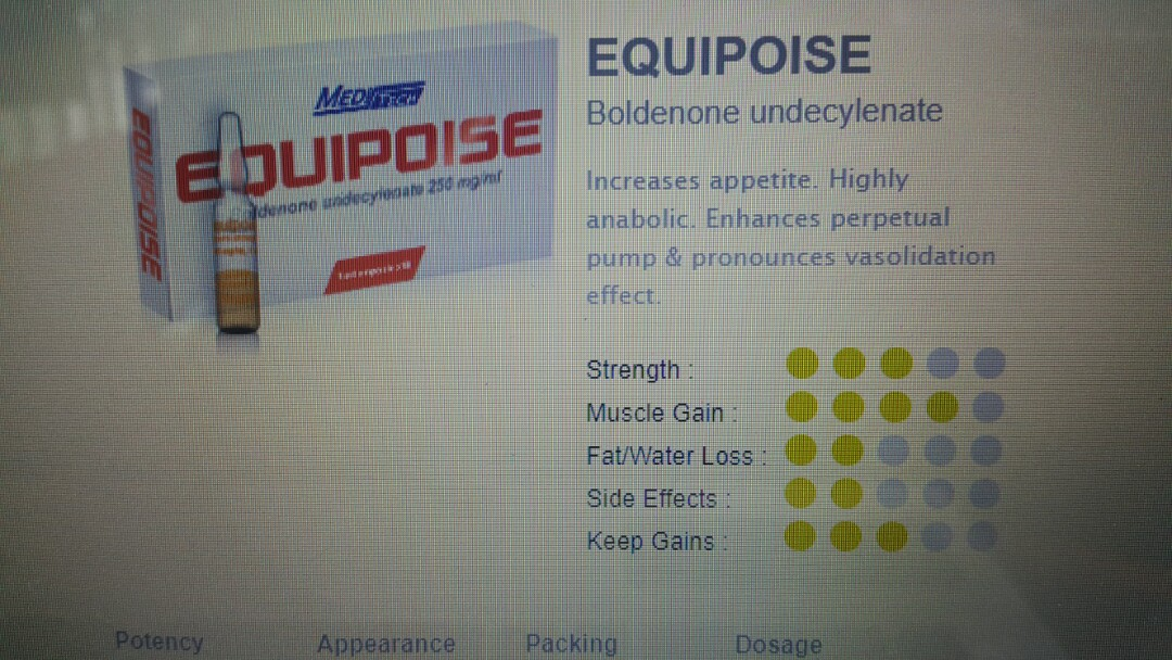 Equipoise boldenone anabolic pump muscle gain