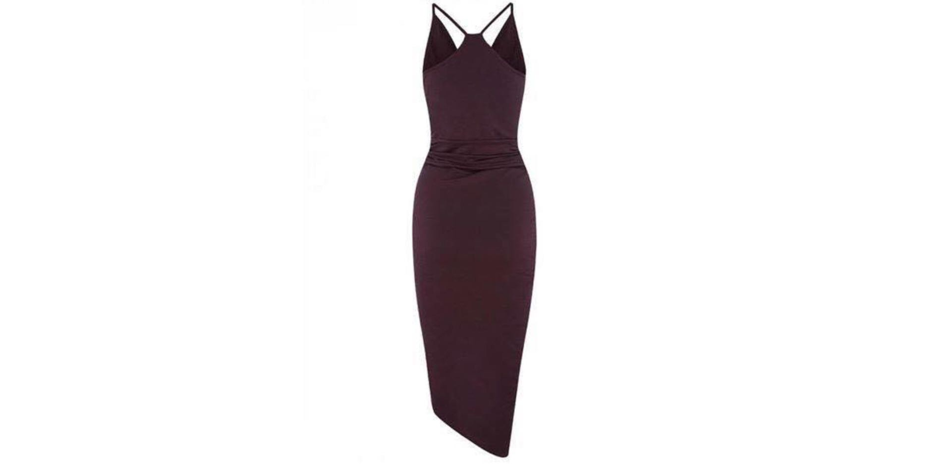 Gorgeous Sheike Luxe Maroon Dress - Size 6