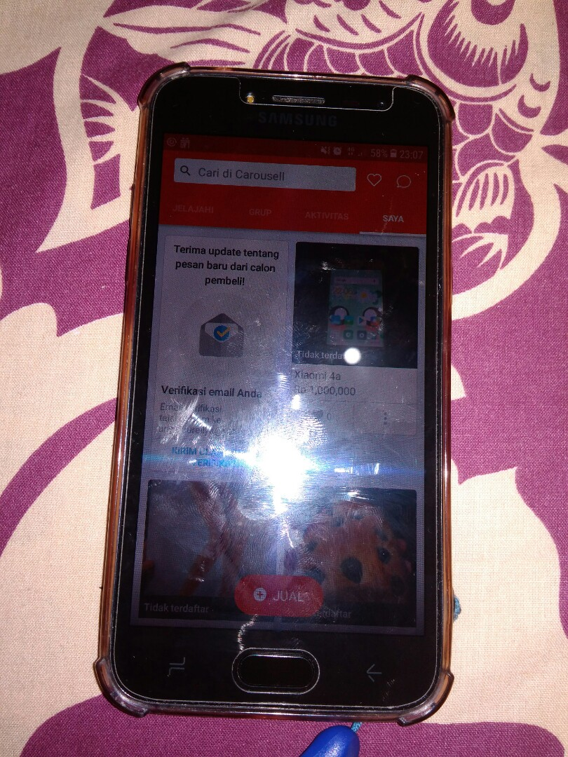Hp Samsung J2 Pro Black Mobile Phones Tablets Android On Carousell