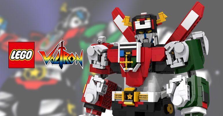 Lego ideas 21311 Voltron, Toys & Games, Bricks & Figurines