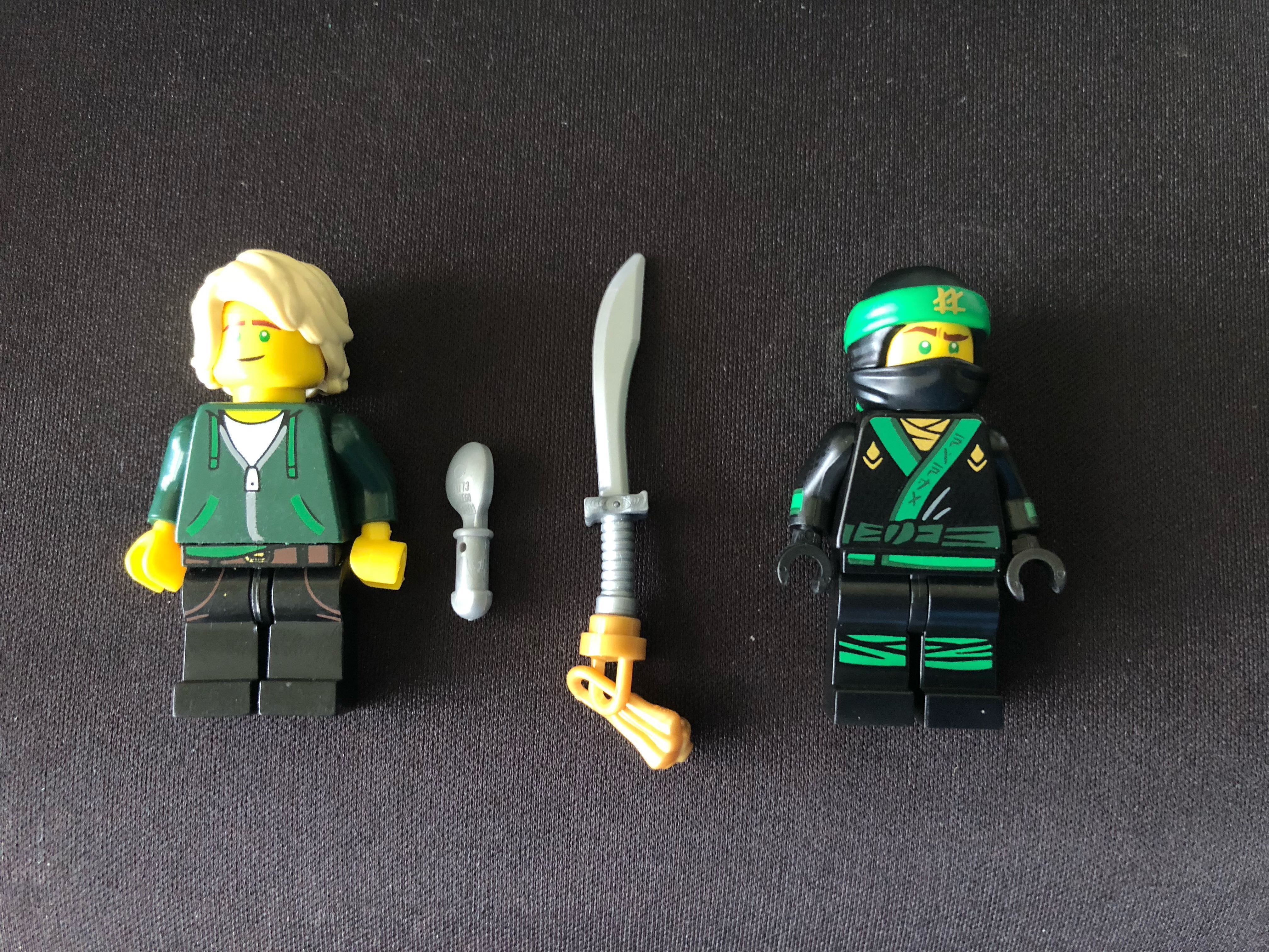 Lego Movie Ninjago Lloyd Garmadon Toys Games Bricks Figurines On Carousell