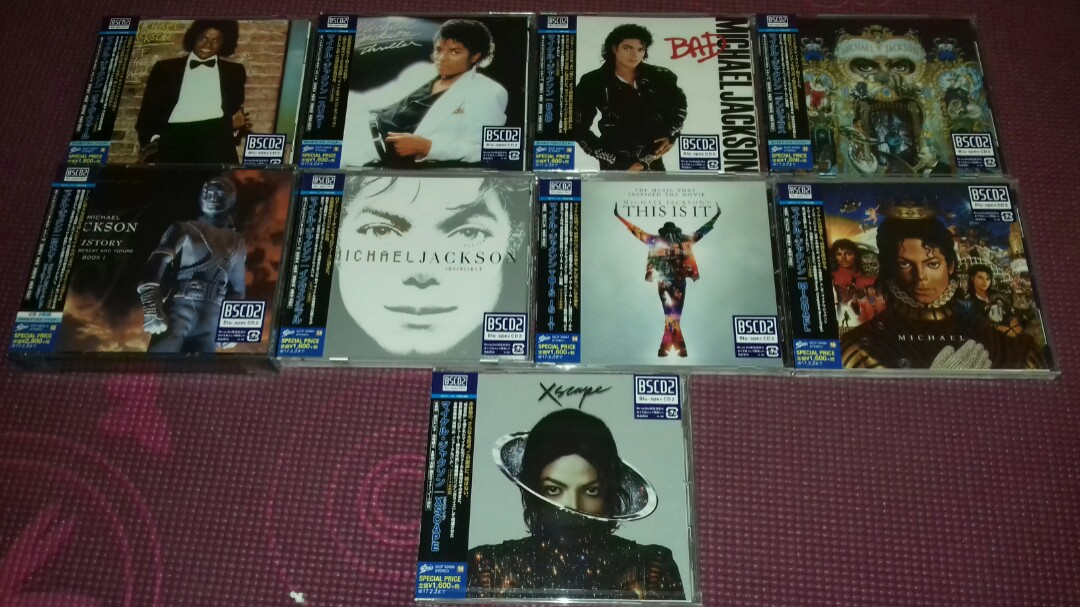 Michael Jackson Japan Only 9 Blu Spec First Pressing
