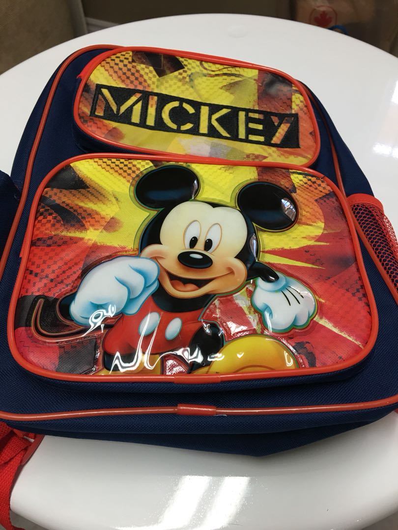 ⚫️Mickey Mouse Backpack