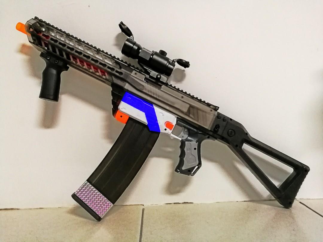 Nerf Retaliator Mod (Abang Sado)