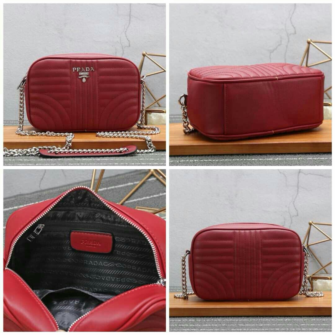 b6ae66aa7083 ... france prada sling bag red high grade 5aaa womens fashion bags wallets  on carousell 789ee cc2d1