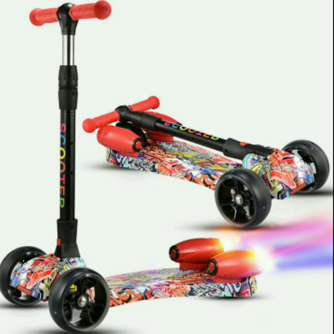 Scooter Anak Skuter Mainan Babies Kids Toys Walkers On Carousell
